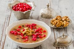 Turkish Dessert Ashura Royalty Free Stock Photo