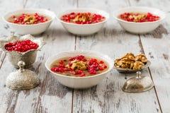 Turkish Dessert Ashura Stock Photos