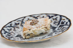 Turkish dessert baklava Stock Image