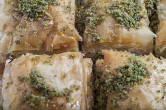 Turkish dessert baklava Stock Images
