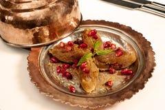 Turkish dessert halva Stock Image