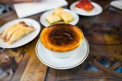 Turkish dessert. Istanbul Turkey,September 2014 Stock Photography