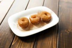 Turkish dessert Lokma Stock Image