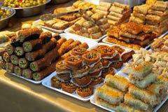Turkish dessert Stock Image