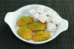 Turkish desserts Royalty Free Stock Photography