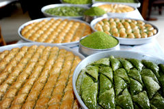 Turkish desserts Royalty Free Stock Images