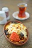 Turkish dinner Royalty Free Stock Photo