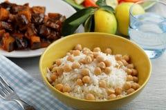 Turkish dinner Stock Image