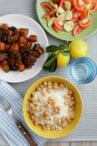 Turkish dinner Stock Photos