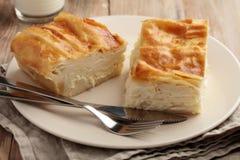 Turkish dish Su Boregi Royalty Free Stock Image