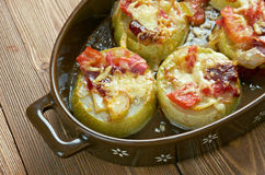 Turkish dish of zucchini Stock Images