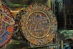 Turkish dishware Stock Image