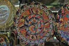 Turkish dishware Stock Photography