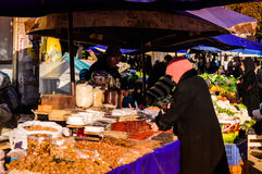 Turkish District Bazaar Royalty Free Stock Images