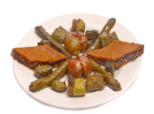 Turkish dolmades stock images