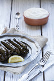 Turkish dolmades Stock Photos