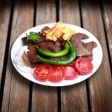 Turkish doner kebab Royalty Free Stock Images