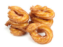 Turkish doughnuts or traditional ring sweet Royalty Free Stock Images
