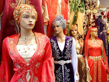 Turkish dresses Stock Image