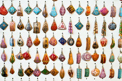 Turkish earrings Royalty Free Stock Images