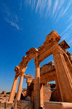 Turkish Efes ancient ruins Stock Image