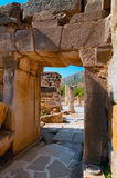 Turkish Efes ancient ruins Stock Images