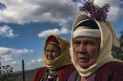Turkish elderly women Royalty Free Stock Images