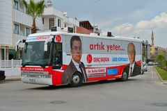 Turkish elections Stock Photography