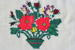 Turkish embroidery Royalty Free Stock Image