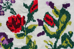 Turkish embroidery Royalty Free Stock Photos