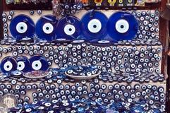 Turkish evil eye stock image