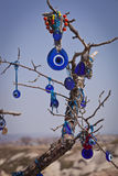 Turkish Evil Eye on a Tree Stock Photos