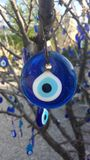 Turkish eye of the prophet. On a tree Royalty Free Stock Photography