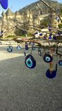 Turkish eye of the prophet. On a tree Royalty Free Stock Photos