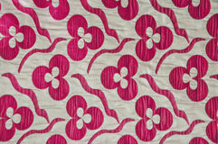 Turkish Fabric. Detail from Turkish fabric with traditional floral designs Stock Images