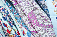 Turkish Fabric Royalty Free Stock Image
