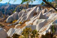 Turkish famous tourist place - Cappadocia, Central Anatolia, valley Stock Photos