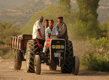 Turkish Farm Workers Stock Image