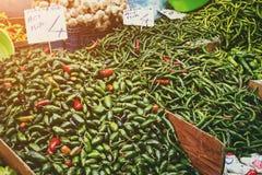 Turkish farmer market royalty free stock photography