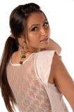 Turkish Fashion Female Royalty Free Stock Photography