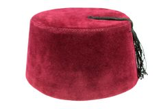 Turkish fez, traditional ottoman hat Stock Images