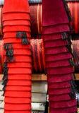 Turkish fez, traditional ottoman hat Stock Photo