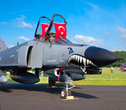 Turkish fighter Royalty Free Stock Photo