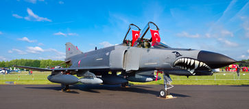 Turkish fighter Stock Image