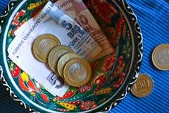 Turkish fine money Stock Photo
