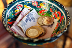 Turkish fine money Royalty Free Stock Image