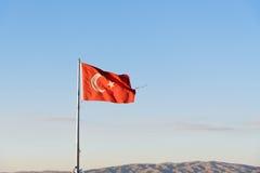 Turkish flag Royalty Free Stock Images