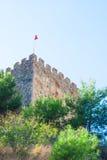 Turkish flag Royalty Free Stock Photos