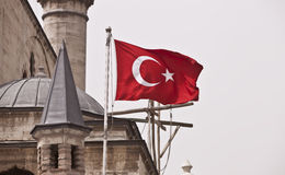 Turkish Flag Stock Image