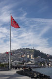 Turkish flag Royalty Free Stock Image